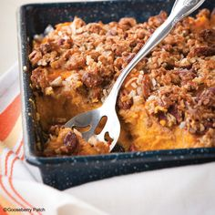 Gooseberry Patch Recipes: Sweet Potato Casserole from our new cookbook Easy Classic Casseroles