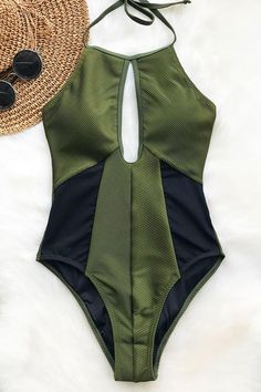 Cupshe Hear The Lullaby Mesh One-piece Swimsuit - Bademode Summer Wear, Summer Outfits, Cute Outfits, Casual Summer, Trendy Outfits, Cute Bathing Suits, Cute Swimsuits, Bikini Swimwear, Bikini Beach