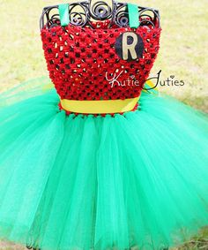 The Robin Tutu Dress Halloween Costume Pageant baby by KutieTuties, $84.95