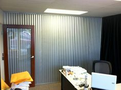 Corrugated Metal Fencing, Panels, Draft Curtains