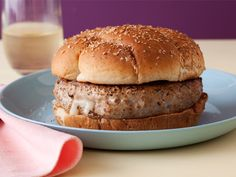 Stuffed Turkey Burgers Recipe : Ellie Krieger : Food Network - FoodNetwork.com