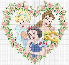 CHARMS DEUR Kruispunt: Disney Princesses Die