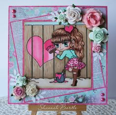 Embellished ExpresShan's: Whimsy Inspiration - Lovely Tracy