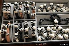 Skull Bracelet, Skulls, Bracelets, Bangles, Bracelet