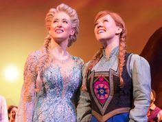 Photo of Ryan McCartan as Hans and McKenzie Kurtz as Anna in Frozen. Frozen On Broadway, Anna Frozen, World Music, Show Photos, Game Of Thrones Characters, Elsa, Ana Frozen