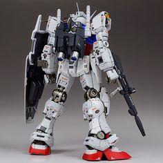 "RG 1/144 GPO1 Gundam ""Zephyranthes"" - Painted Build"
