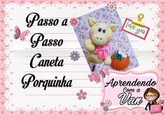 (DIY) PASSO A PASSO CANETA PORQUINHA COM MOLDE MINI PETS MINI ou PP