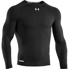 UNDER ARMOUR Men Athletic T-Shirt LEMON BLACK GRAPHIC Semi Fitted Heat Gear $40