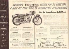 1956 Triumph Brochure