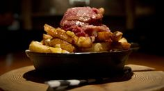 The Oakwood Canadian Bistro: All Canadian poutine with smoked brisket