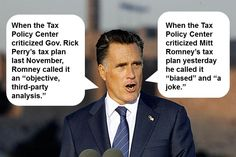 Doggone Flip-Flops: Romney on the Tax Policy Center