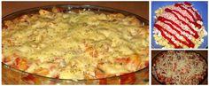 """Zapekané """"pizza"""" cestoviny - To je nápad! Cheeseburger Chowder, Mashed Potatoes, Pizza, Soup, Ethnic Recipes, Lasagne, Whipped Potatoes, Mashed Potato Resep, Soup Appetizers"""