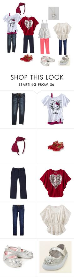 """""""Emmalyn"""" by maddieisawriter ❤ liked on Polyvore featuring Antony Morato, Hello Kitty, Whitby, Gymboree and Roberto Coin"""