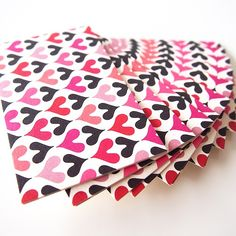 Our iconic heart patterns are going beyond with different colors! #color #colour #blackandpink #blackandred #redandblack #goth #gothic #stacks #60s #70s #heart #hearts #patterns #design #love #lovely #fashion #girly #papers #cute #surfacepattern #graphic #grunge #pop #phychedelic #funky #ハート #女子