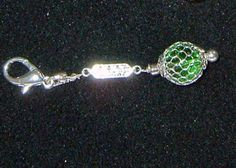 Made by LaVerne Mulvey - LaCraft Fun / zipper pull or key chain bling