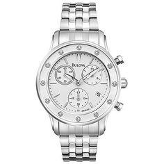 $293.65 Bulova 96R165 Womens Diamond Watch want it !