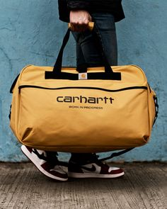 CARHARTT WIP Spring/Summer 14 Duffle Bags Editorial By HYPEBEAST