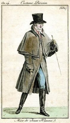 Outfit for a young man, 1805.