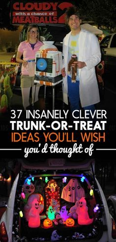 37 Insanely Clever Trunk-Or-Treat Ideas You'll Wish You'd Thought Of