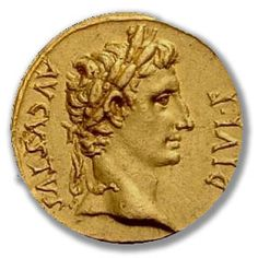 Augustus Caesar. Augustus' real name was Octavian or Octavius. He was the nephew of Julius Caesar and was adopted as heir in Caesar's will. Octavian adopted his adoptive father's name, Gaius Julius Caesar and thus began his fourteen-year struggle to gain control of the Roman Empire.