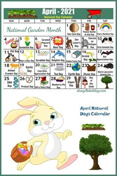 do you like to plan ahead for your activities, menus and DIY projects? Head to Always the Holidays to get your printable calendar for the National Days of April. #calendar #printable #nationaldays April National Days, National Day Calendar, Free Printable Calendar, Free Printables, Beer Day, Days Of The Year, Craft Activities, Diy Projects, How To Plan