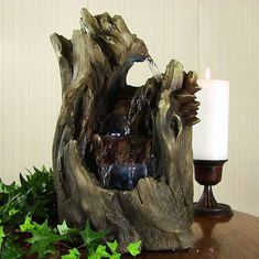 Cascading Caves Waterfall Tabletop Water Fountain