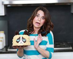 Ermahgerd....Grumpy Cat doesn't like cake! lol :) - Rosanna Pansino