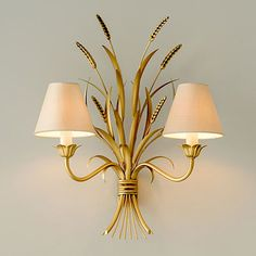 Old Gold Sussex Wall Light Indoor Wall Lights, Modern Wall Lights, Ceiling Lights, Decorate Lampshade, Lampshades, Traditional Wall Lighting, Apartment Lighting, Window Furniture, Candle Shades