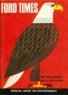 Ford Times, July Illustrations by Charley Harper