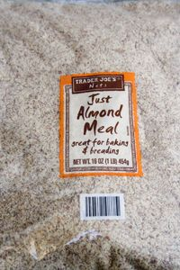 Trader Joe's Just Almond Meal | Trader Joes easy, healthy, quick recipes for dinner, occasions, breakfast and lunch meal ideas