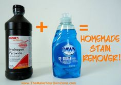 Homemade Stain Remover – Another Success Story of this simple mixture that can work wonders