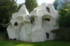 André Bloc - Sculpture-habitacle n°2, 1964  - Meudon - France by workflo, via Flickr