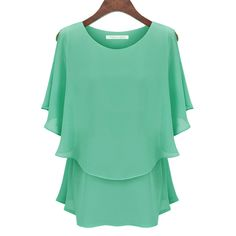 >> Click to Buy << Women Tops Yellow Chiffon Blouse Shirt Blusas Feminina Women Shirts Summer Style Plus Size L-5XL Blusas Feminina 4XL 5XL #Affiliate