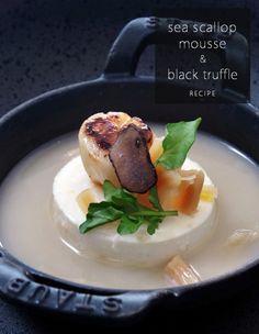 Sea Scallop Mousse & Black Truffle Recipe