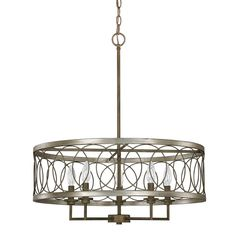 Shop Joss & Main for your Malia Chandelier. The centerpiece of this collection is the antique charm of mercury glass that is modernized through a softly diffusing beige organza drum shade.