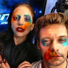 Lady Gaga gave Ryan Seacrest an #ARTPOP makeover! What do you think?
