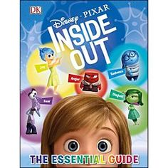 Disney Inside Out: The Essential Guide Book | Disney StoreInside Out: The Essential Guide Book - <i>Inside Out: The Essential Guide</i> is the perfect introduction to Disney%u2022Pixar's peek inside the human mind. This book explores the key locations, themes, and iconic moments from the Disney%u2022Pixar movie.