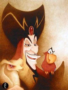 Jafar & Iago from Aladdin