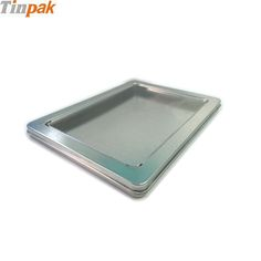 This A6 postcard colletion tin box with clear window in lid is to collect your postcards and keep them long time.