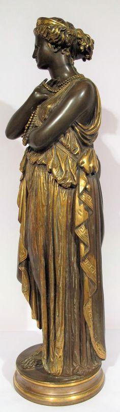 Jean-baptist Cleysinger (1814-1883), Helen Of Troy, Concept Antiques, Proantic3500eu