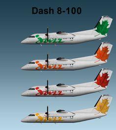 Air Canada Jazz Dash 8-100