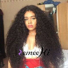 160% Density Soft Tiny Curly Brazilian Human Hair Baby Hair Front/Full Lace Wigs