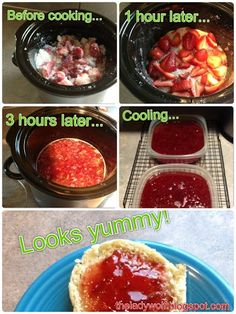Crockpot Recipe for Strawberry Jam