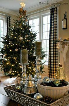 Фото идей и украшений новогодней елки в доме