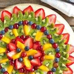 Fruit Pizza   foodvee