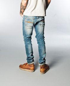 Grim Tim Org. Crispy Used - Nudie Jeans Co Online Shop
