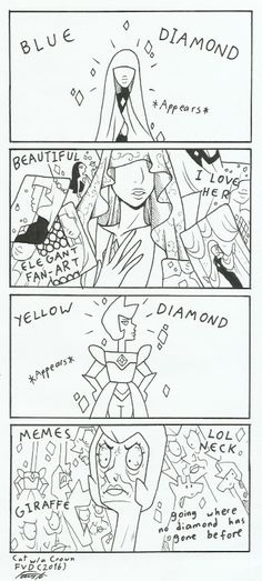 diamonds - cat with a crown
