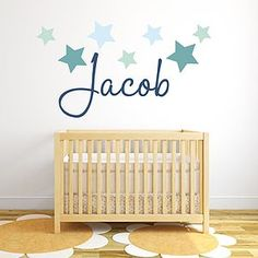 Star Name Fabric Wall Sticker - shop by price