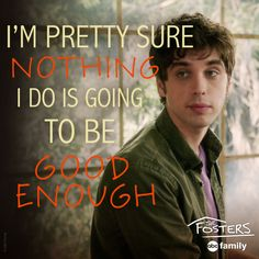 Poor Brandon! | The Fosters Quotes