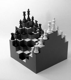 Increible lo vi hace años ahora es real 3D Chess